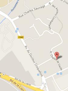 pl charles de gaulle,Saint leonard - Google Maps